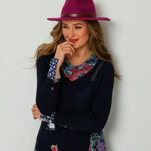Chic wool fedora hat (2 colourways)