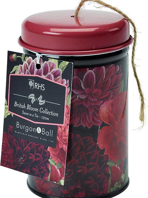 RHS British Bloom- Twine in a tin
