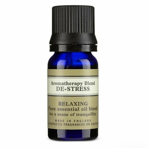 Aromatherapy blend de-stress