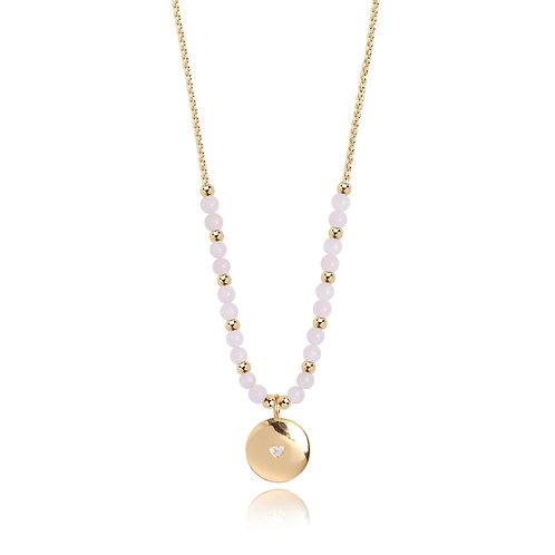 Signature stones love necklace