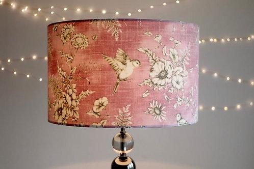 Pink Bird Lampshade