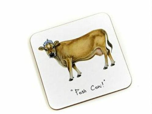 Posh cow Coaster