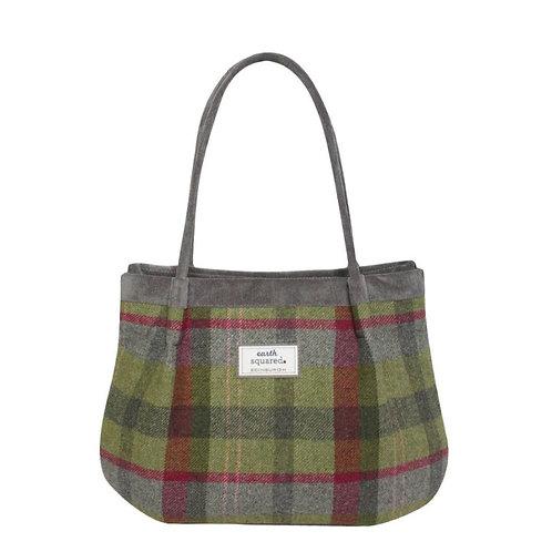 Freya bag - Stone moss tweed