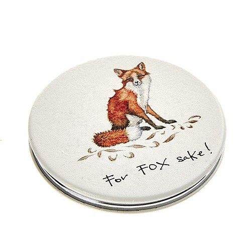 For fox sake compact mirror