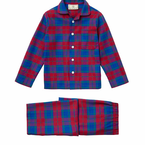Children's bordeaux pyjama set