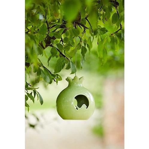 Sophie Conran ceramic bird feeder- Pomegranate