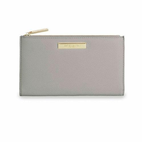 Alise soft pebble purse - grey