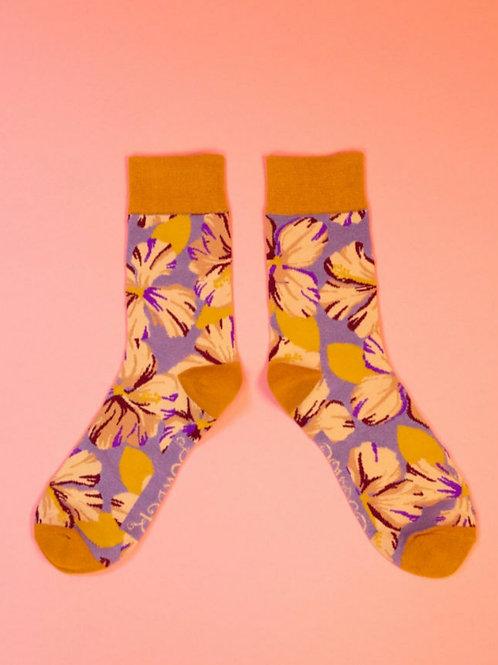 Men's hibiscus socks
