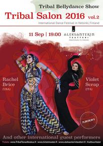 Агапия Савицкая выступит на Гала-Концерте Tribal Salon International Dance Festival in Helsinki, Fi