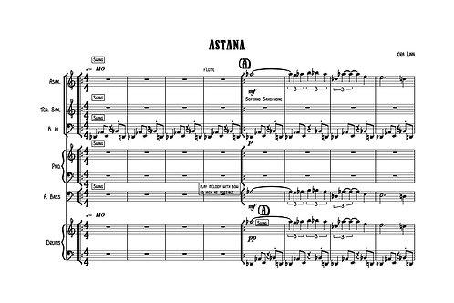 Astana by Kira Linn - Score&Parts