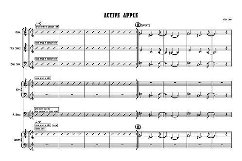 Active Apple by Kira Linn - Score & Parts