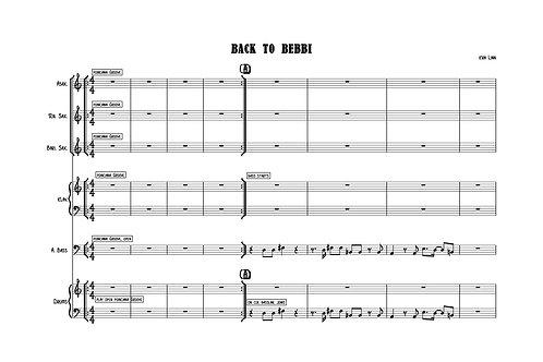 Back to Bebbi by Kira Linn - Score&Parts