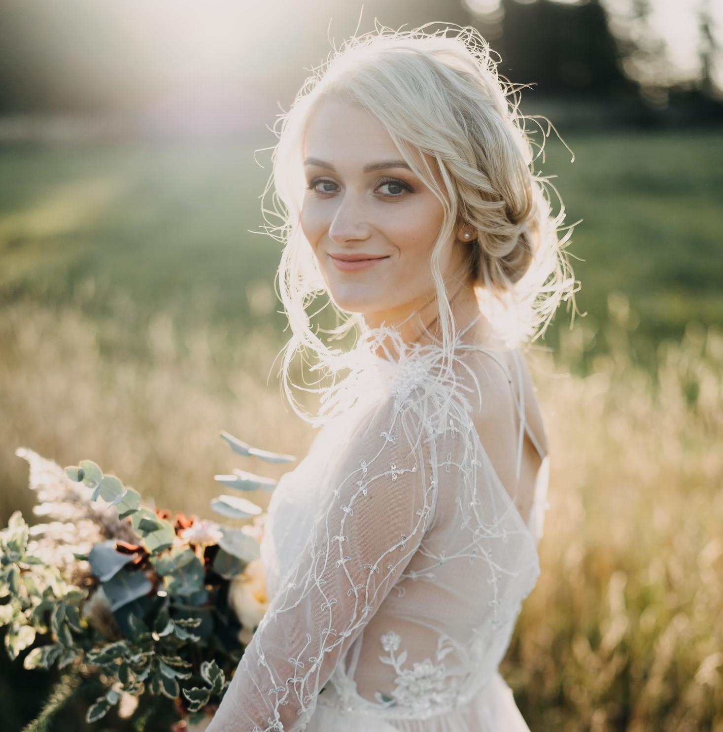 Bridal Make-up & Hair - Wedding day
