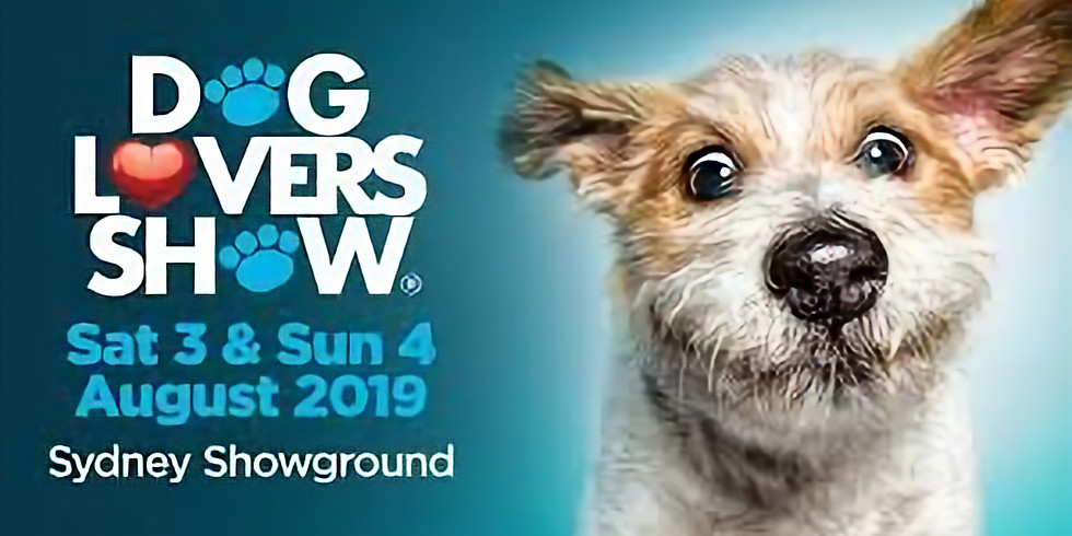 Visit us at the Sydney Dog Lovers Show