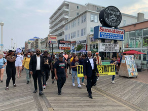 Black leaders on 'Freedom Bus Ride' across Maryland's Eastern Shore call for racial equality