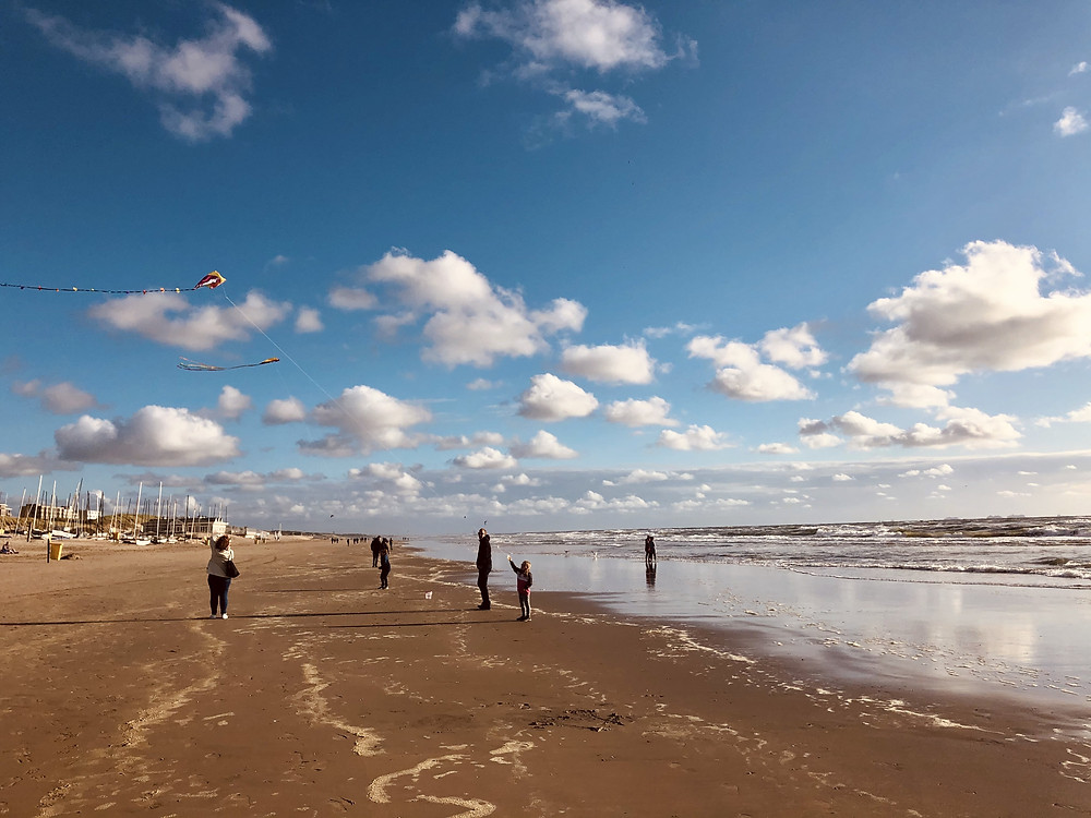 Beach of Noordwijk, Netherlands