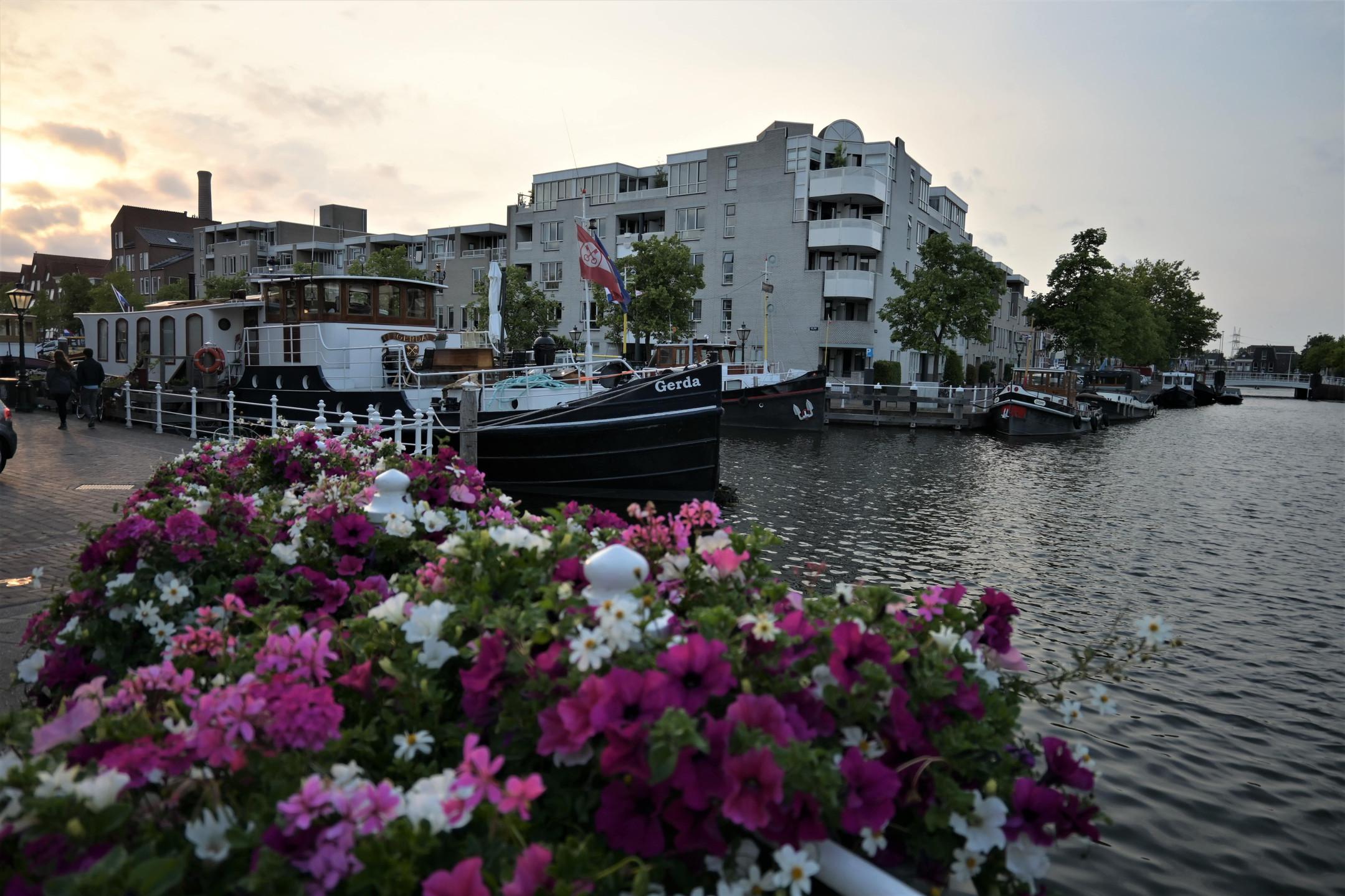 Leiden canals Netherlands citytrip