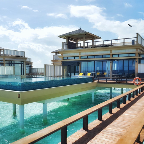 Maldives: ultimate private pool villa combination at Angsana Velavaru