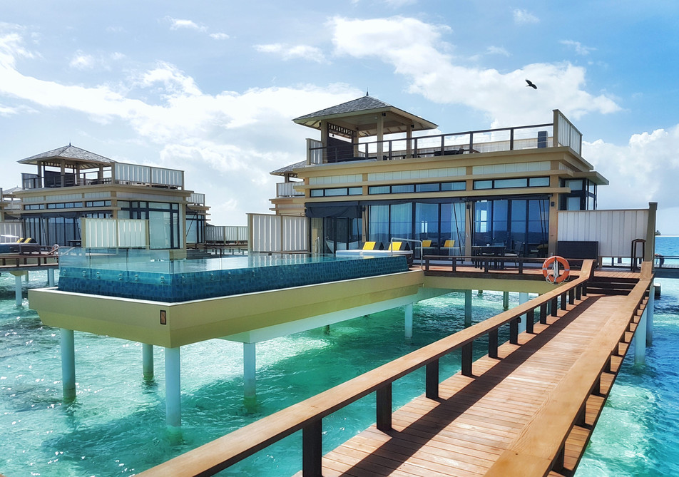 Maldives: ultimate private pool villa combination at Angsana Velavaru