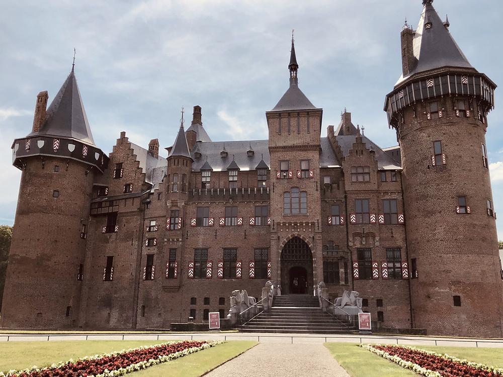 De Haar Castle Utrecht backside - the Netherlands