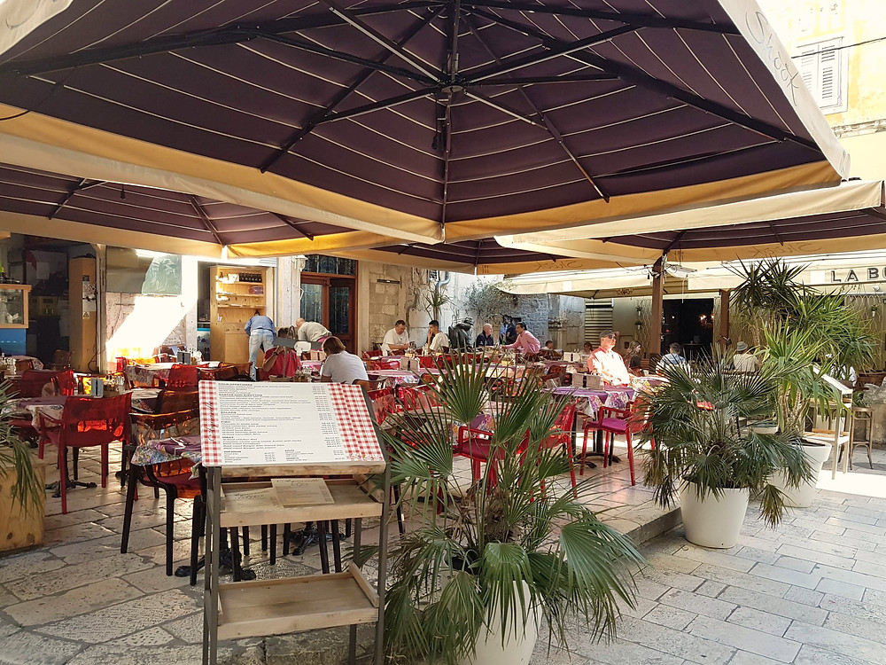 Restaurants of Split