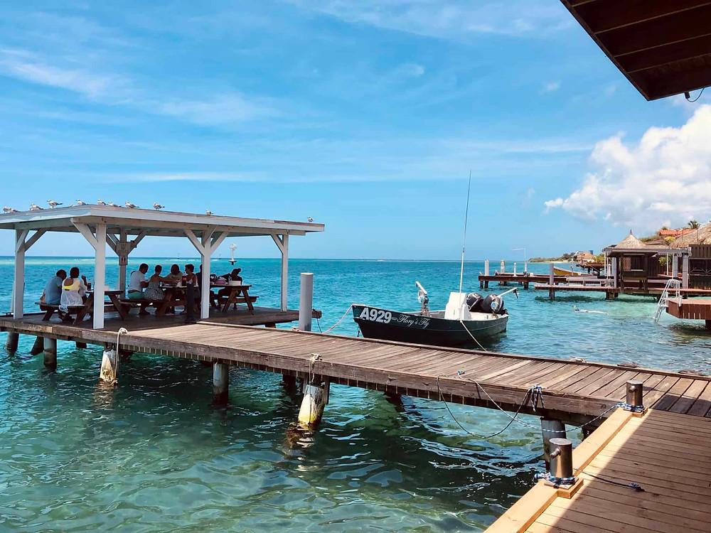 Zeerover Restaurant in Savaneta Aruba