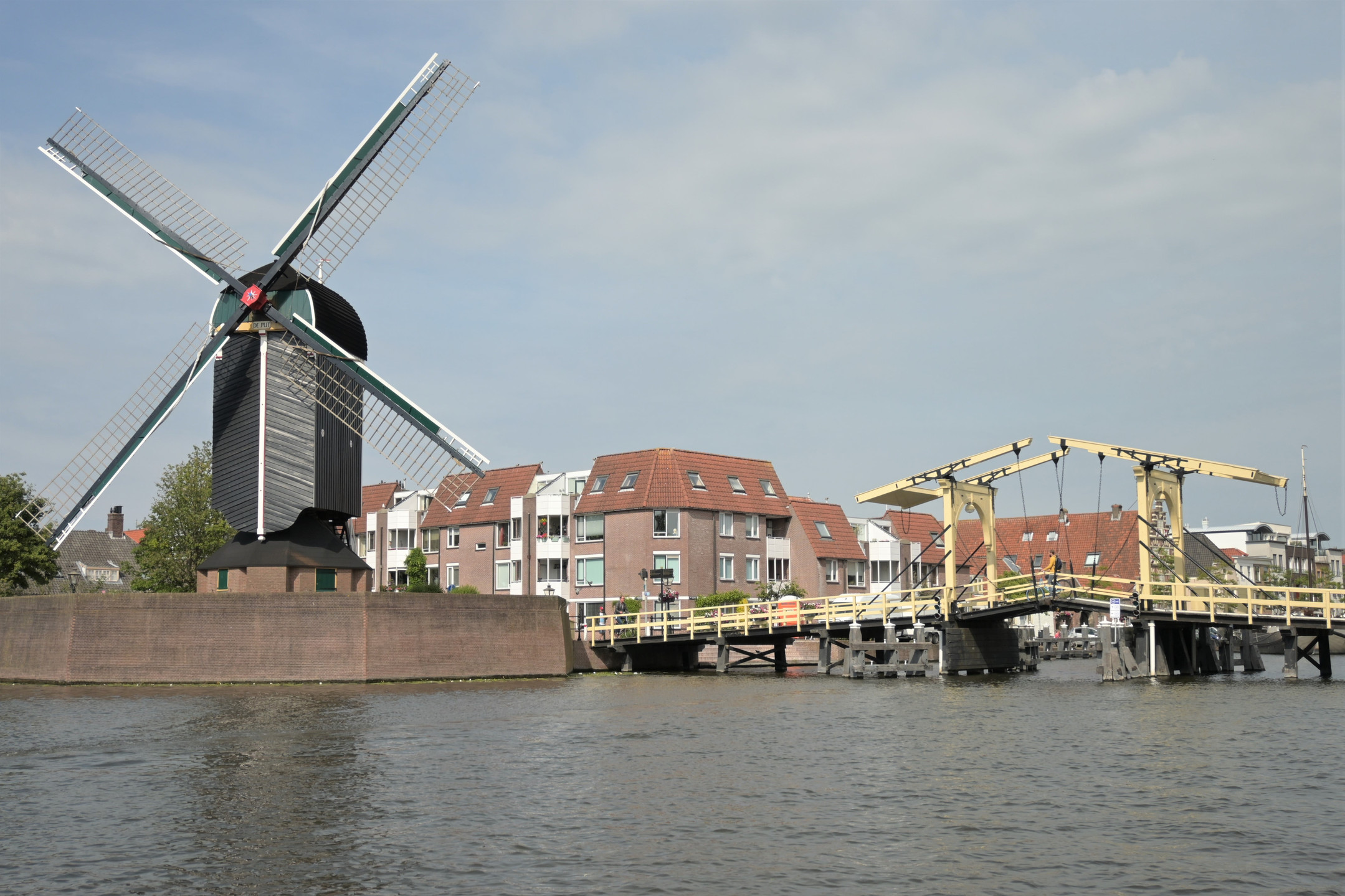 Boattrip Leiden Netherlands city views