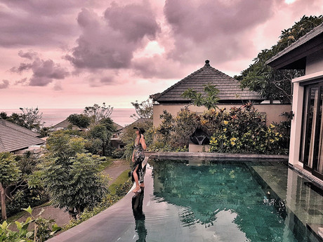 Top 5 unique private pool villas around Bali