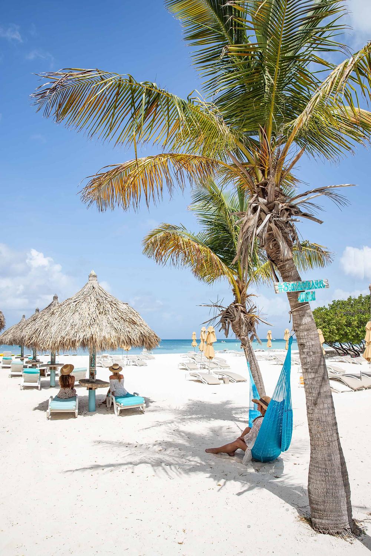Boardwalk Beach at Palm Beach Aruba