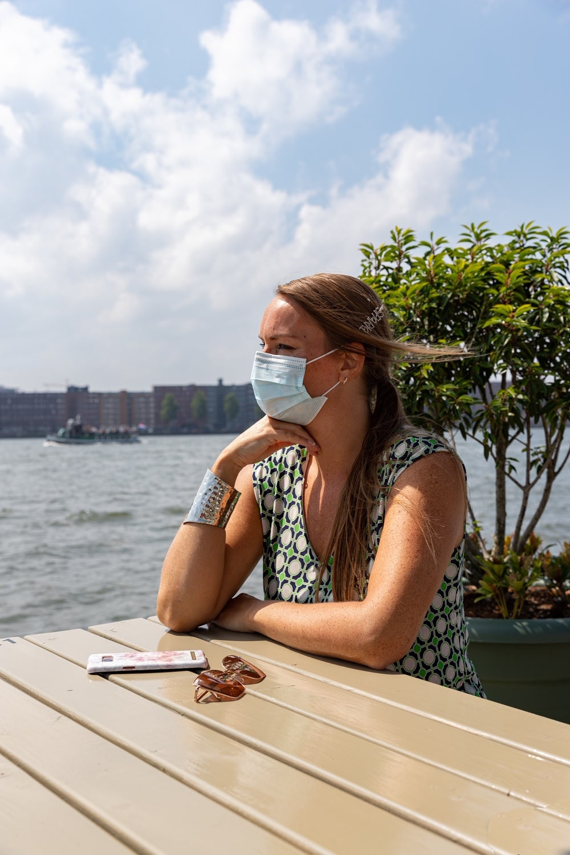 Corona regulation disposable facemask