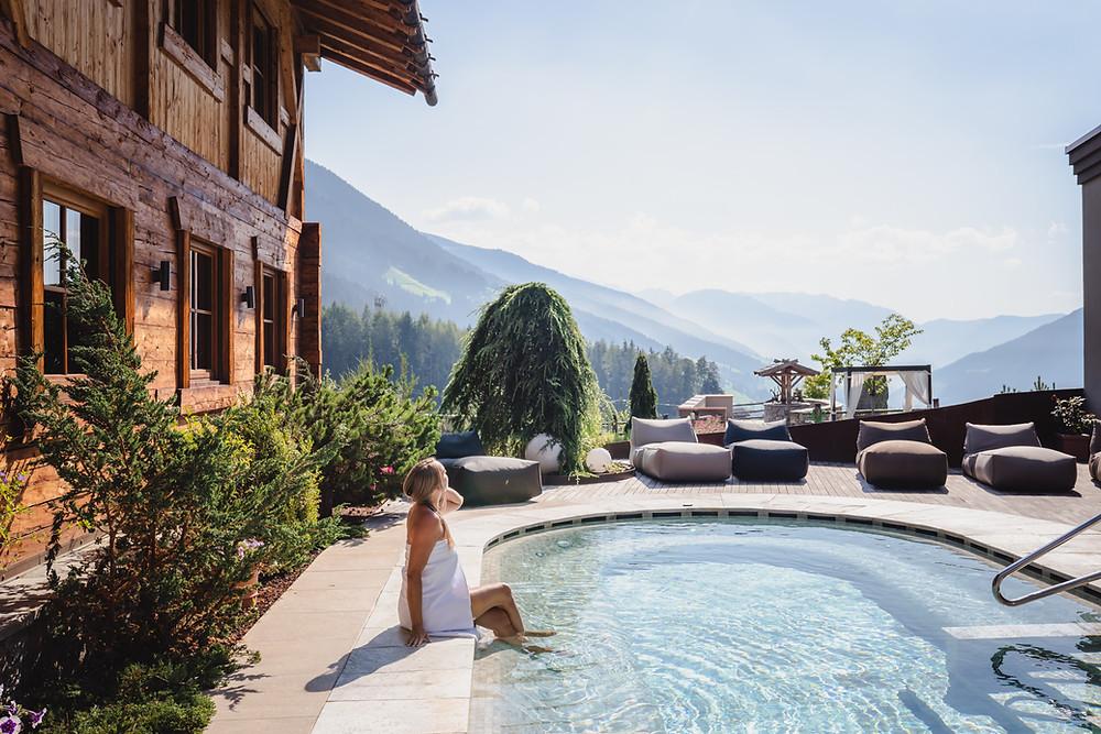 Spa Minera at Hotel Plunhof-Ridanna Italy