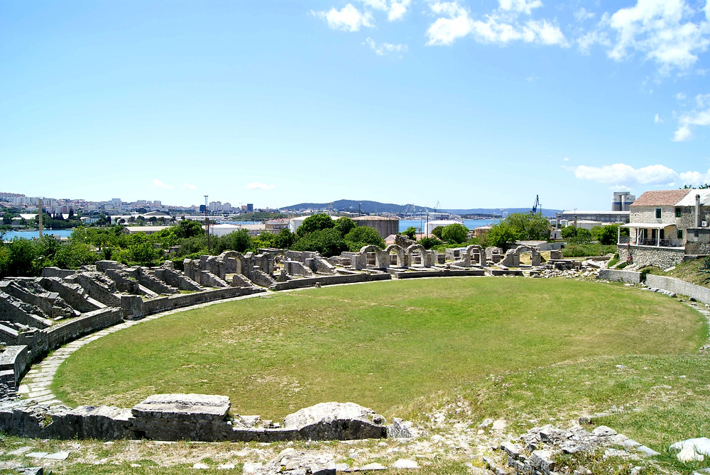 Amphitheater near Salona