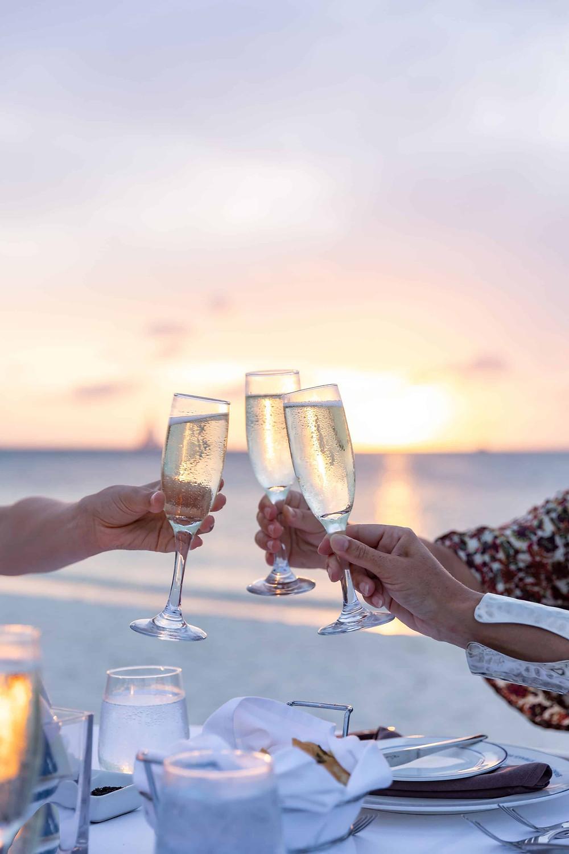 Private Sunset Dinner Hilton Palm Beach Aruba