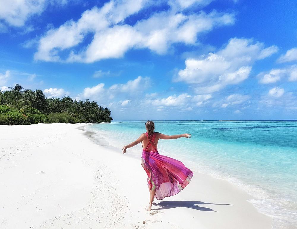 Maldives summer holiday