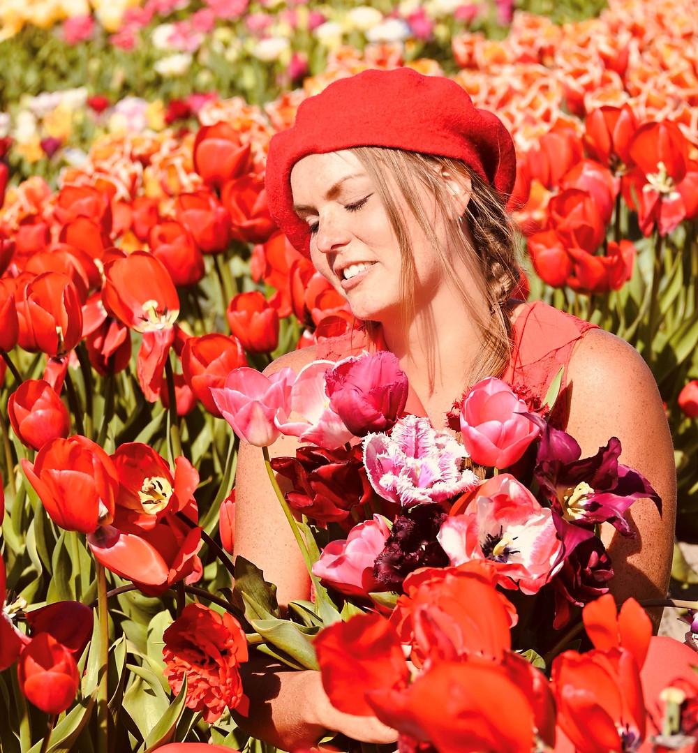 Tulip fields Voorhout, the Netherlands