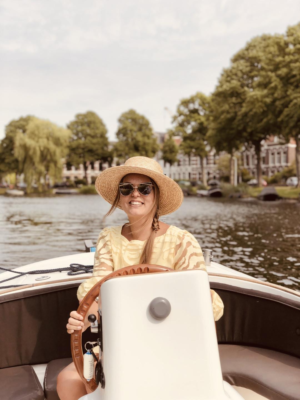 Boattrip Leiden Netherlands private sloop