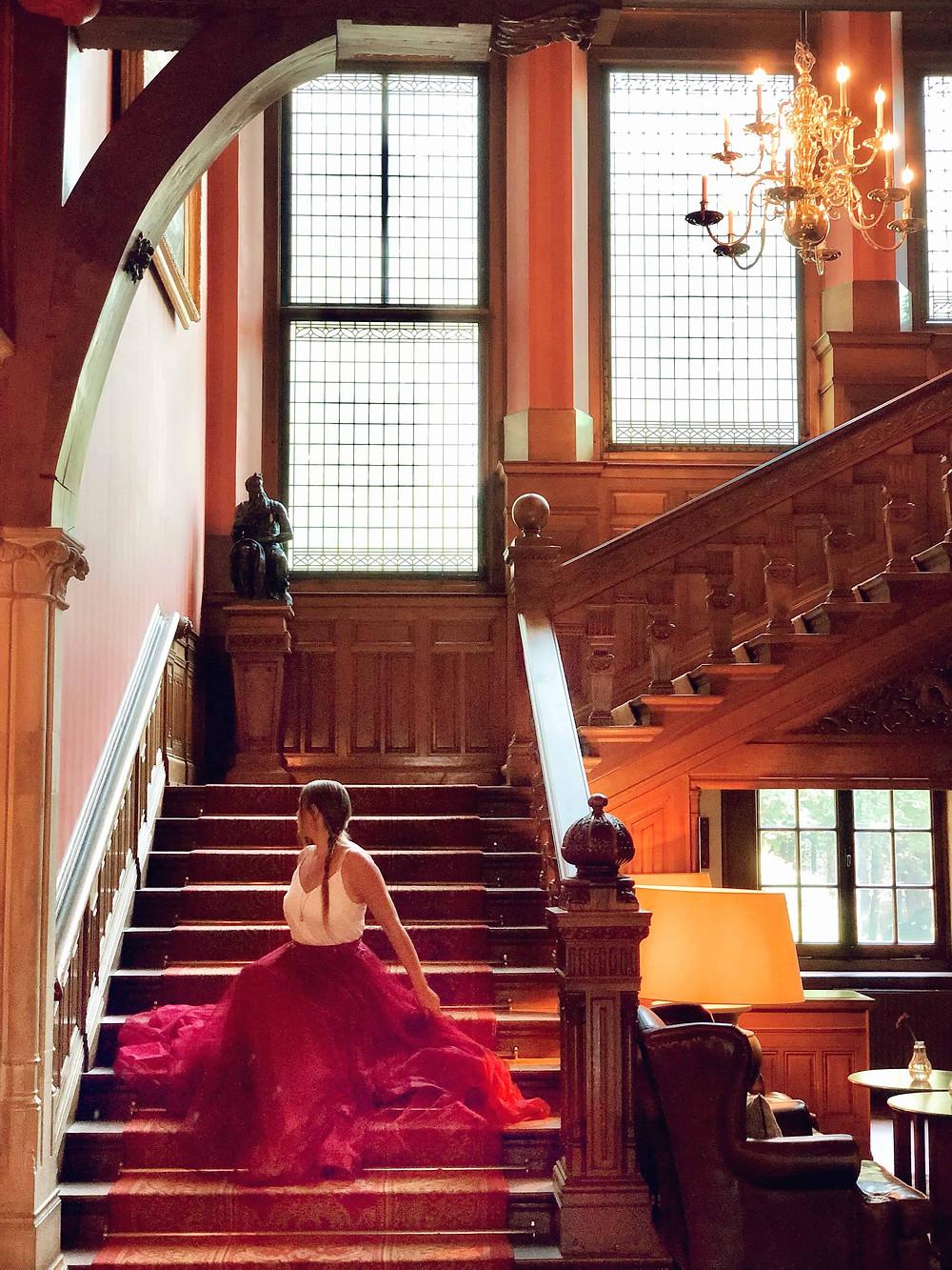 Duin & Kruidberg Hotel lobby Santpoort-Noord-Netherlands