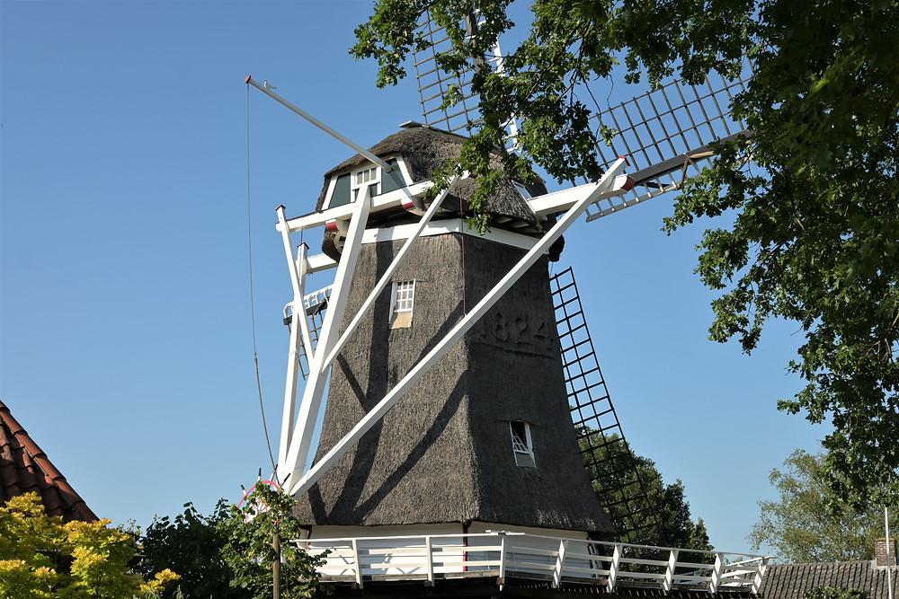 Mills of Ommen in Overijssel - the Netherlands