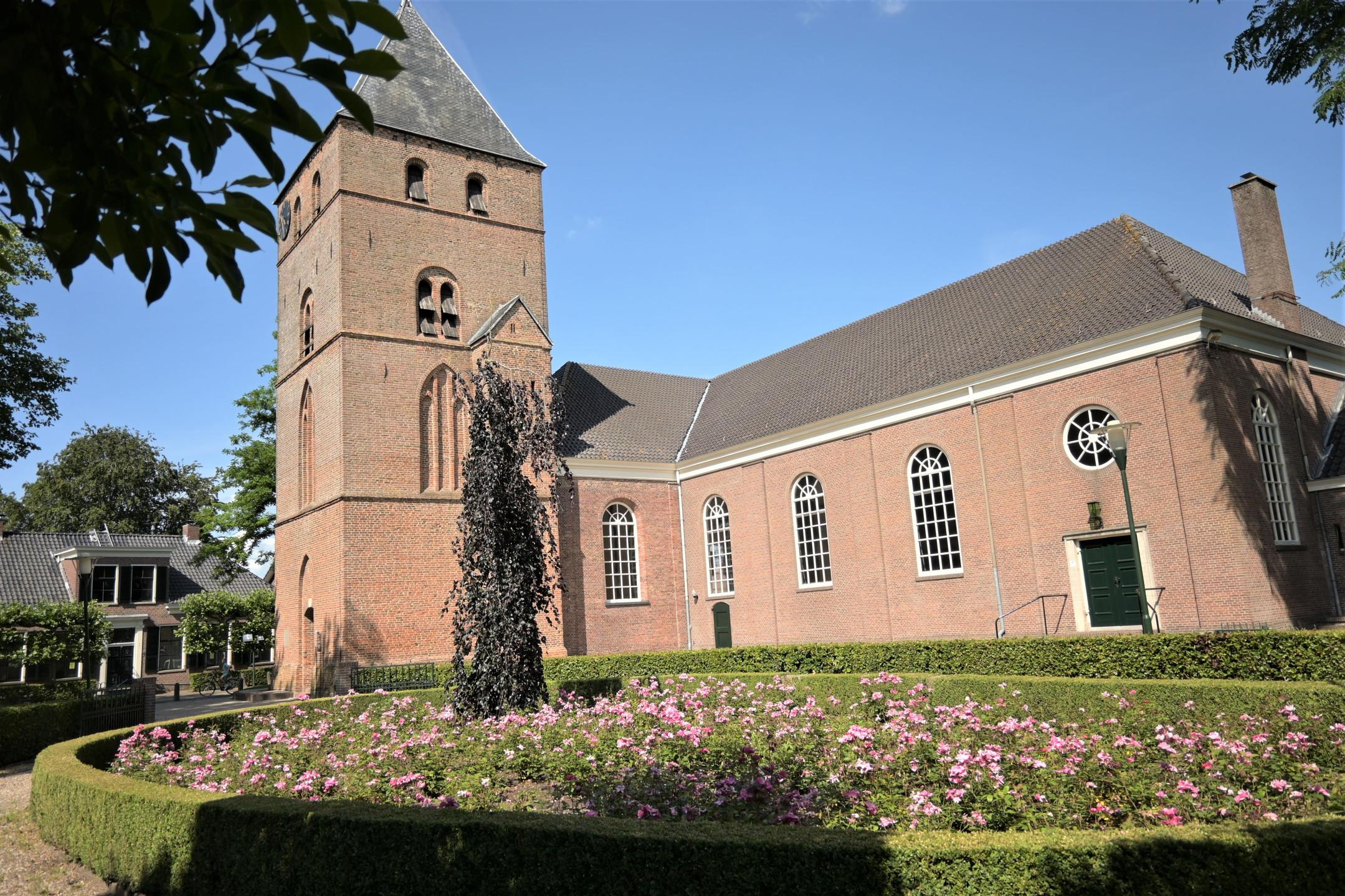 Den Ham church in Overijssel - the Netherlands