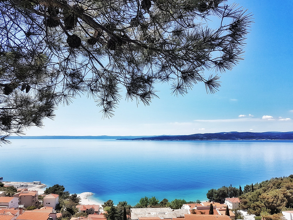 Makarska Riviera views Croatia