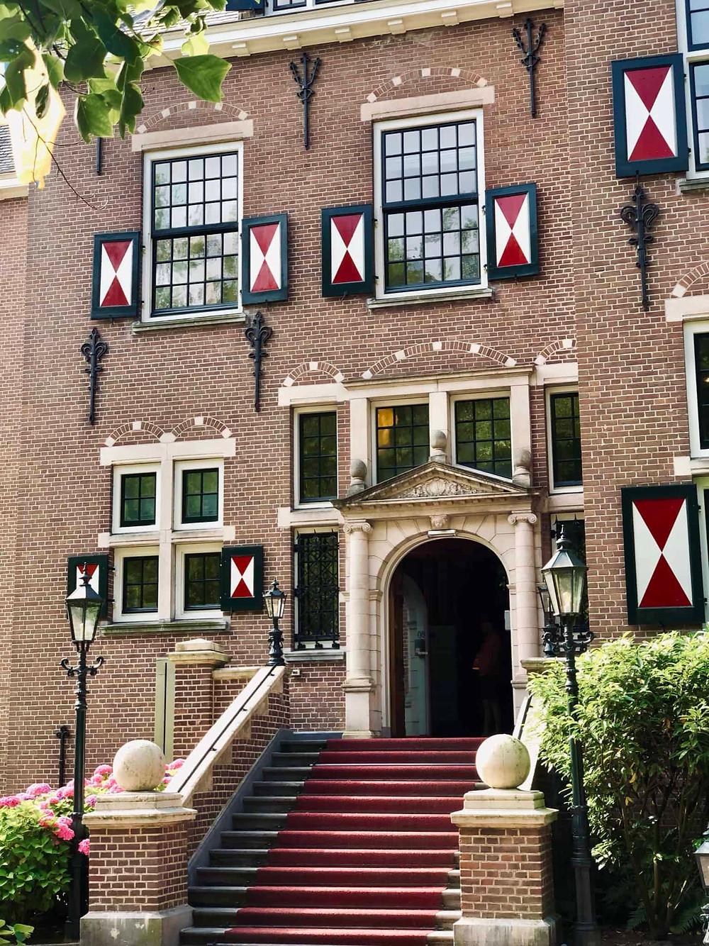 Duin & Kruidberg Hotel entrance Santpoort-Noord-Velsen-Netherlands