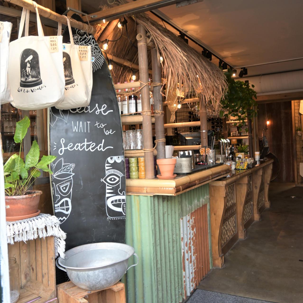 Restaurant Lot & de Walvis decor Leiden Netherlands