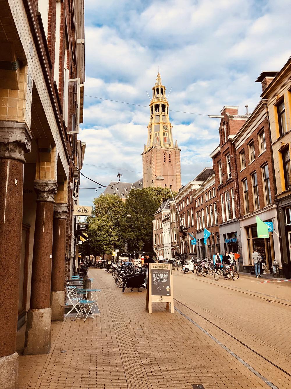 Groningen city center-The Netherlands