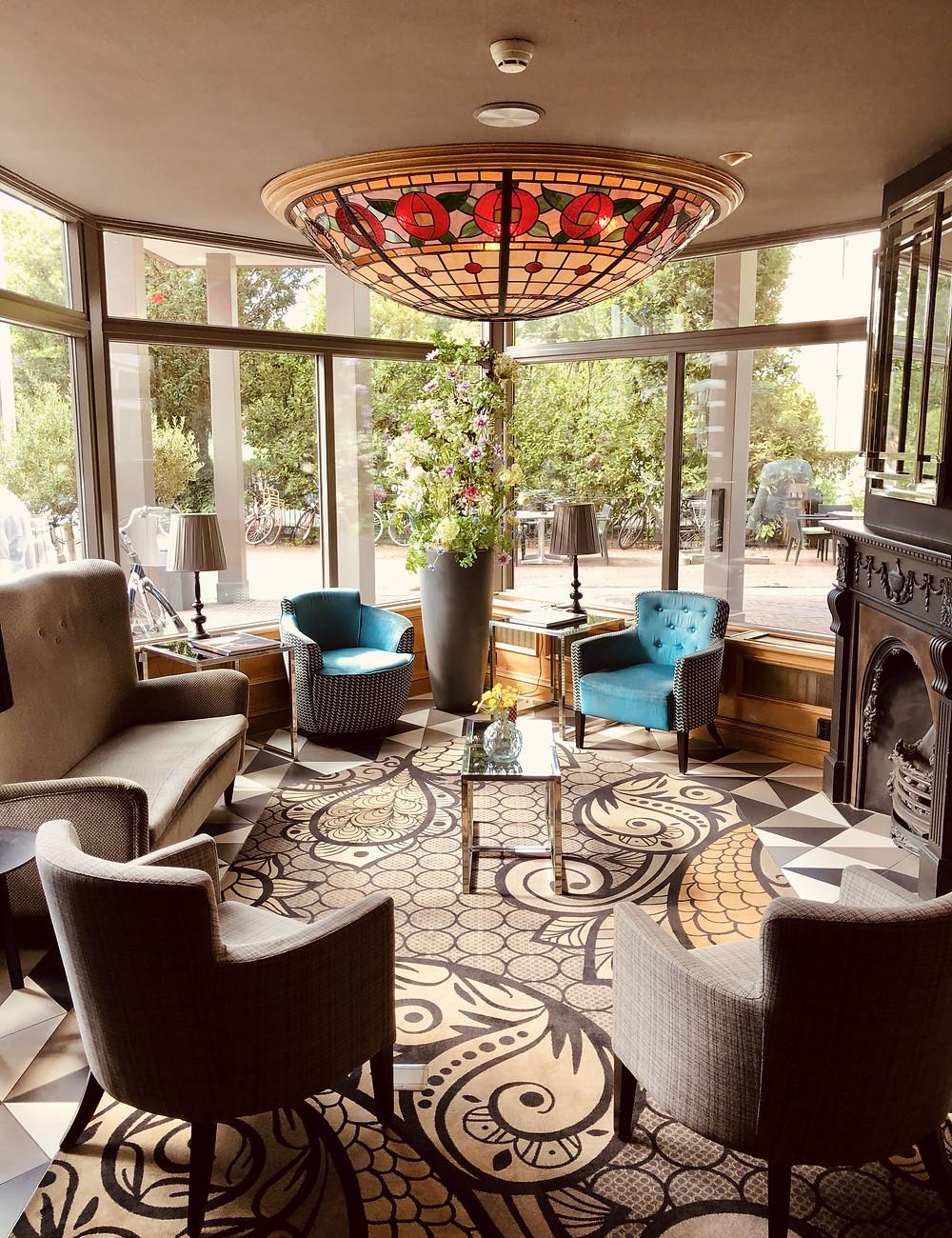 Carlton Square Hotel lobby Haarlem - The Netherlands