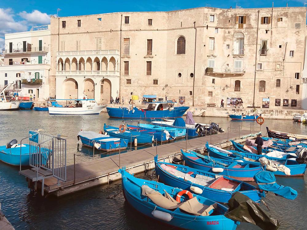 Harbour of Monopoli Puglia-Italy