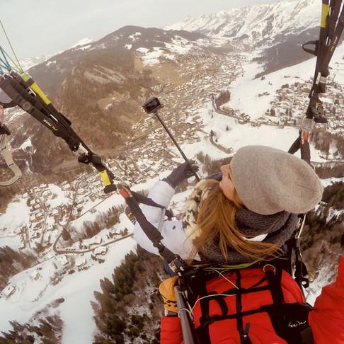 Winter adventure & activities Aravis Mountains – France