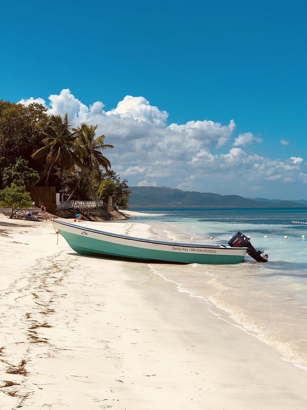 Departure beach Paradise Island @Punta Rucia