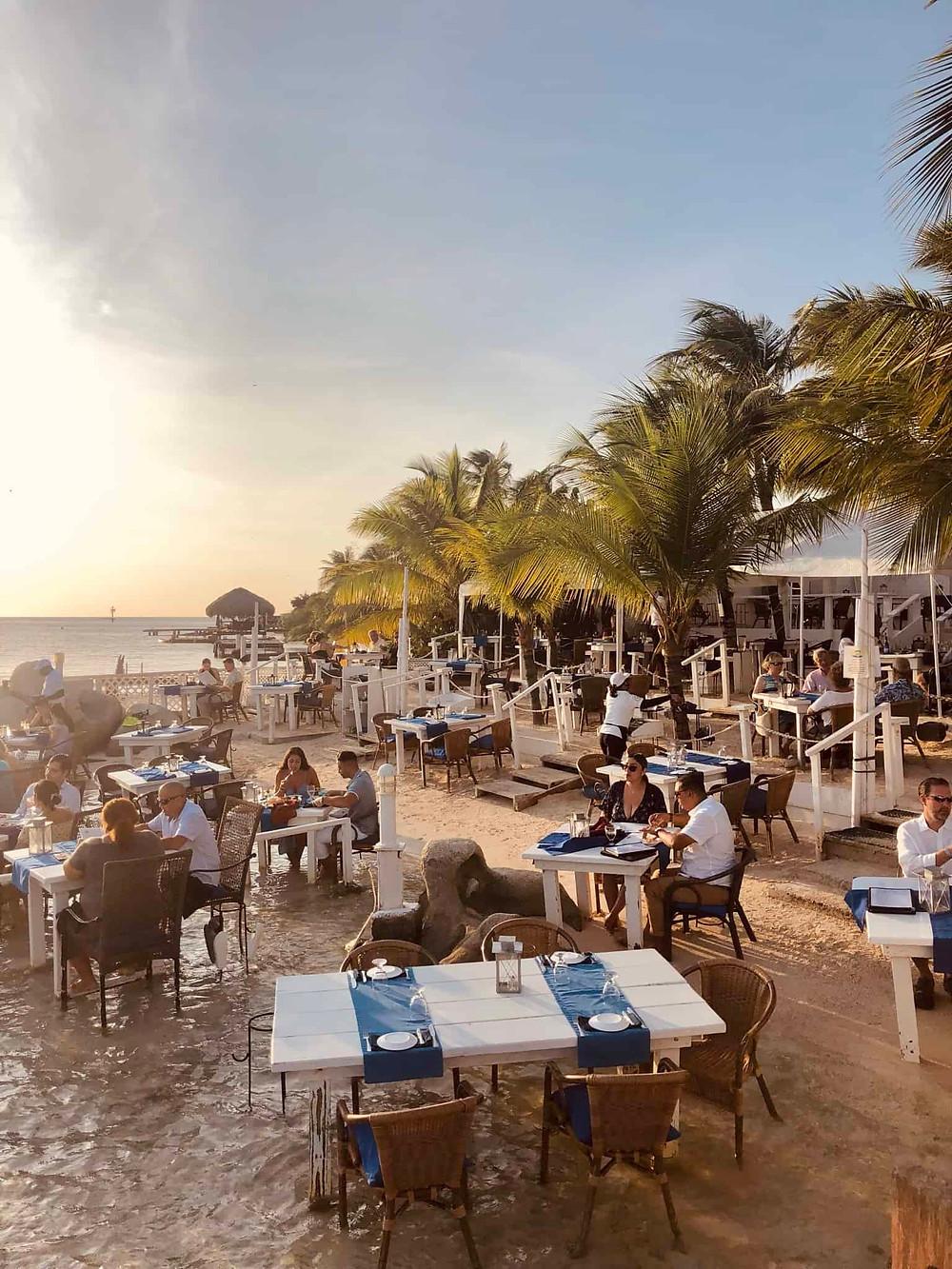 Flying Fishbone Restaurant Savaneta Aruba