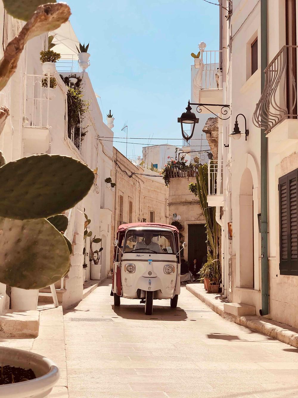 Historic center of Monopoli Puglia-Italy
