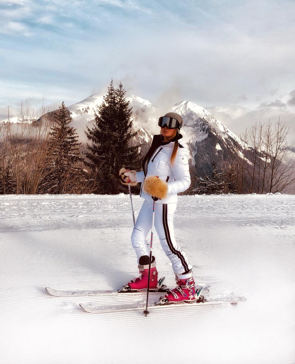 French Alps Ski Safari Portes du Soleil